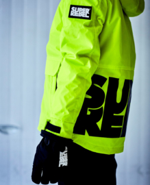 SuperRebel: Ski jacket reflective yellow R909-6281