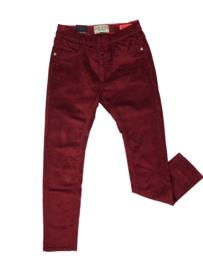 Cars Jeans: Jegging Burgundy corduroy