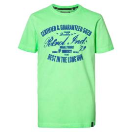 Petrol: T-shirt neon groen