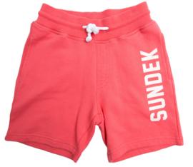 Sundek: korte joggingsbroek/roze