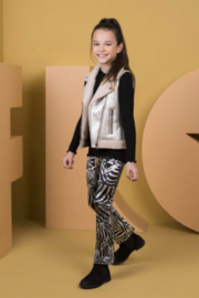 Like Flo:Broek met zebraprint