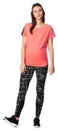 Noppies Zwangerschap:  Sport T-shirt Coral - C072