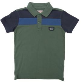Petrol: polo groen/blauw B-SS-19-POL916