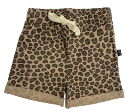 House of Jamie: Summer shorts - Caramel Leopard