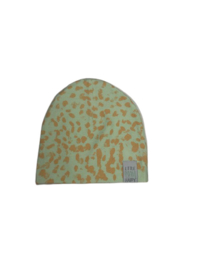 Little man happy:  Jungle Maze Beanie