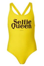 Nik & Nik: Yvonne Bathing Suit - Sunny Yellow 'Selfie queen'