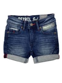 Petrol: Shorts denim - Donker blauw