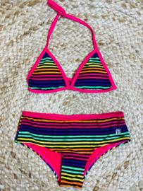 Shiwi: Triangle Bikini - rainbow stripe