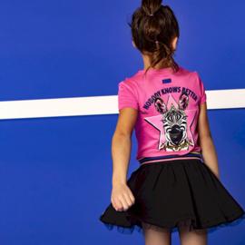 B.Nosy: T-shirt Ruffles - Pink