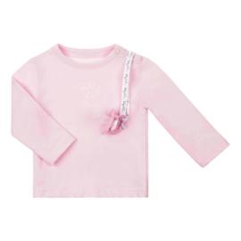 Baby Deluxe t-shirt met speenkoord - roze