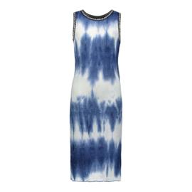 Like Flo: lange jurk tie dye