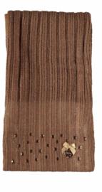 Le Chic: Sjaal bruin - Girls