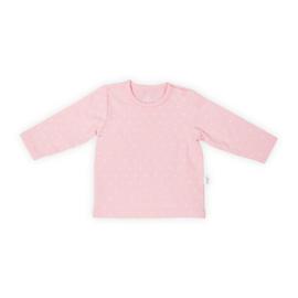Jollein: Shirt long sleeve hearts soft pink