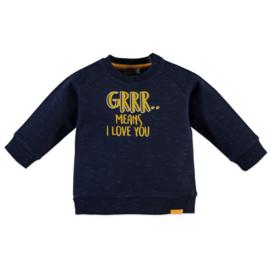 Babyface: Sweater  Grrrr - Navy