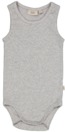 Wheat: Body sleeveless - melange grey