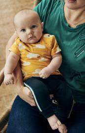 Babyface: Sweatpants with stripe - Indigo