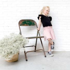 House of Jamie: Smocked Skater Skirt - Powder Pink
