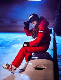 SuperRebel: Ski-Snowboard pants Neon Red 6684