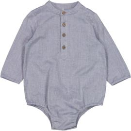 Wheat: Romper Shirt Victor - Blue