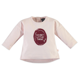 Babyface: 'Sweet Little Thing' Longsleeve - Pink Blush
