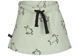 Noeser: Simone skirt turtle AOP Green