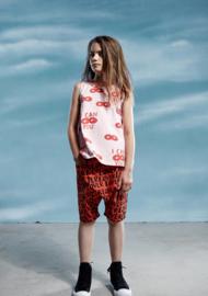 Little Man Happy: Lover shorts - rood