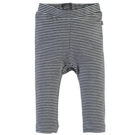 Babyface: Striped Legging - Black Navy
