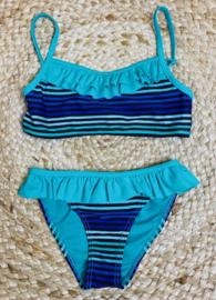 Shiwi: Turkoise bikini met rushes