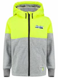 Vingino: jacket Trayan - neon geel