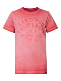 Petrol: T-shirt San Diego  - Rood