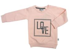 Tibot+Bodil: Trui love pink