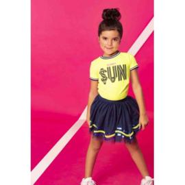 B.Nosy: Meisjes t-shirt Sun - geel