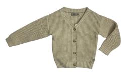 Wheat: Knit Cardigan Aki - rose cheeks