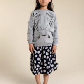 Little Man Happy midi skirt - Blue coral
