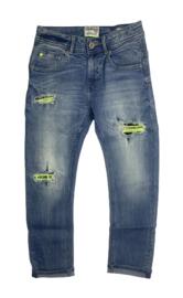 Vingino: Spijkerbroek Cigel - Mid Blue Wash