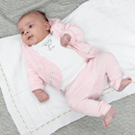 Baby deLuxe: broekje teddystof - roze BDL04