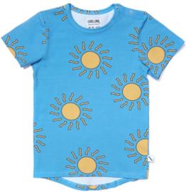 CarlijnQ: Big Sun t-shirt short sleeve drop back