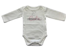 Baby deLuxe: Romper Irresistible, wit  - BDL