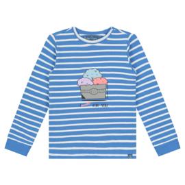 Smitten Organic: Longsleeve - Blue Ice Cream