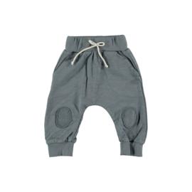 Petit Indi: Lang broekje - grijs/blauw