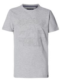 Petrol: Jongens T-shirt Lichtgrijs