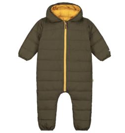 Smitten organic: Reversible snowsuit - Army