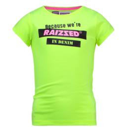 Raizzed: T-shirt Atlanta - Sparkle Lime