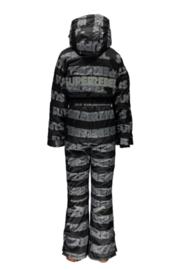 SuperRebel: Ski suit allover logo R909-6081