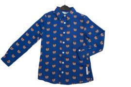 Nik & Nik: Olivia heart blouse blue