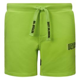 Retour Jeans: jogging shorts Maxim- neon groen