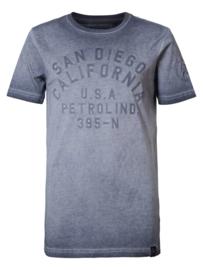 Petrol: T-shirt San Diego  - Grijs