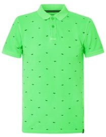 Petrol: Polo zonnebrillen - Neon groen
