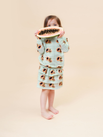 Little man happy: Maya Papaya Volant Skirt - groen