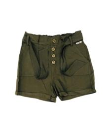 Retour jeans: short army green Paola
